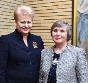 Dalia Grybauskaitė ir Regina Zabielienė